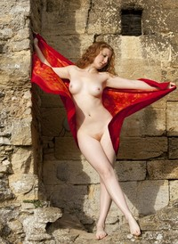 nude redhead wikipedia commons nude redhead red scarf