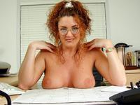 office porn pics amateur porn hardbodied milf waitress gets nude office photo