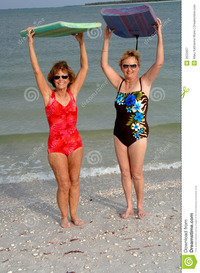 older women pix active older women beach royalty free stock photography