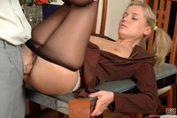 pantyhose porn photos pictures secretary pantyhose pics office