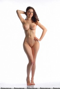 photos of bald pussy swagster fea random brunette naked shaved bald pussy white background
