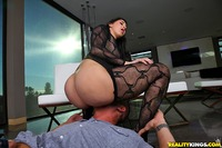 pic of a big ass latinas phat ass sitting guys face