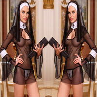 pic of hot porn htb vmpxxxxb xfxxq xxfxxxl sexy costume women cosplay nuns uniform transparent erotic lingerie hot porn exotic apparel nun halloween dress store product