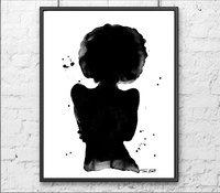 pic of nude black women fullxfull market nude watercolor