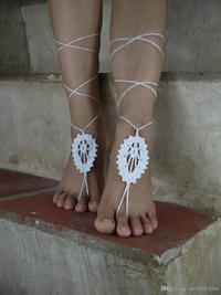 pics of sexy feet albu rbvaglwdml aed naaugyeurkvm store product wedding white crochet barefoot sandals leaves