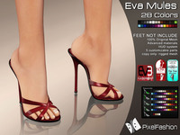 pics of sexy feet assets lightbox eva mules colors slink high feet gaeline tip toe eve avatar mesh