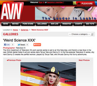 picture gallery xxx avn gallery weird science xxx tanya tate poses