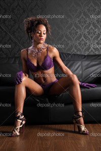 pictures of naked black models depositphotos semi naked african american woman lingerie stock photo