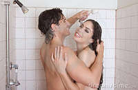 pictures of naked women in the shower naked man woman love kissing shower stock photo