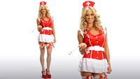 pictures of sexy nurses sexy red nurse costume video thumbnail