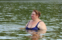 plump woman pics depositphotos plump woman bath river stock photo