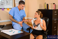 porn pictures doctor original porngall abby cross works doctor office but all ever thinks about