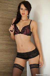 porn with lingerie pics pictures natasha belle looking lingerie against wall