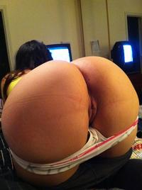 Butt and pussy nice Ass