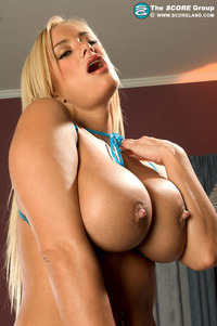 sexy big breast pictures boobed blonde page