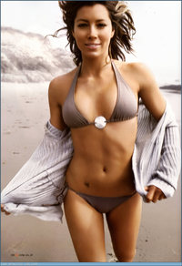 sexy bikini chicks jessica biel bikini derek jeters starting lineup women