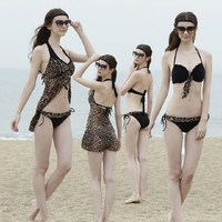 sexy black ladies photos original women sexy black leopard steel prop bikini goods