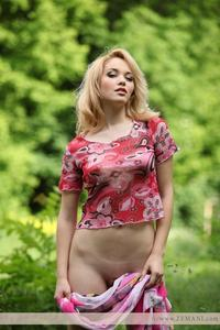 sexy blond galleries sexy blonde alissa loves forest part pics