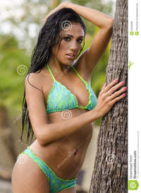 sexy exotic pic sexy exotic bikini swimsuit model royalty free stock