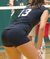 sexy girl butts volleyball girl butt
