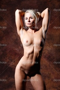 sexy naked woman pics depositphotos very sexy beautiful nude naked woman before brown backg stock photo