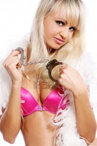 sexy photos of hot women yeko hot sexy women handcuffs isolated over white background photo