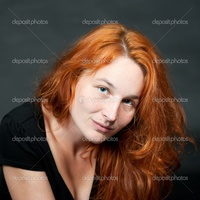 sexy red headed women depositphotos portrait young sexy redhead woman stock photo