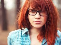 sexy red headed women beautiful women sexy red hair glasses geek