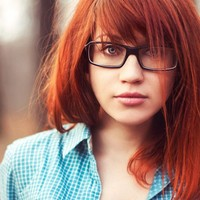sexy red headed women wallpapers beautiful women sexy red hair glasses geek