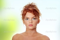 sexy red headed women depositphotos young redhead woman stock photo