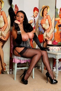 sexy stocking galleries danica sexy pin stockings corset gloves pearls