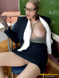 sexy teacher gallery amateur porn pantyhose encasement tan nylon stocking mask sexy school teacher photo