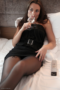 sexy women nylons gthumb fec nylonxfiles perfect tits brunette babe pic