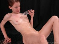 skinny naked girl picpost thmbs playful naked skinny girl pouring oil down tight tummy pics