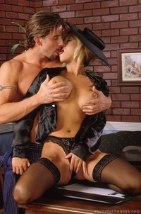 stocking for sex hosted gals jill kelly stocking pic