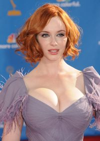 tits photo gallery christina hendricks