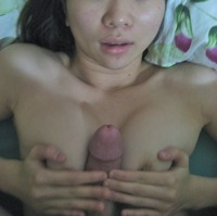 titty fucking cum asian amateur get titty fuck cum belly