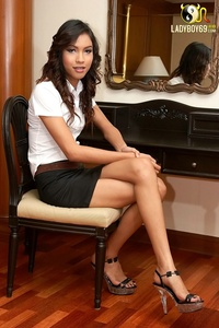 transgender porn gallery xxxpics ladyboy takes work clothes pic