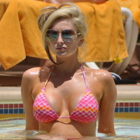 world big boobs pics gemma merna breast tihgt bikini pool pictures celebrity