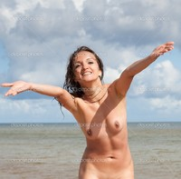 young nude pics depositphotos nude woman beach stock photo