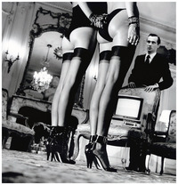 black stockings pic private property suite iii pairs legs black stockings paris photo helmut newton