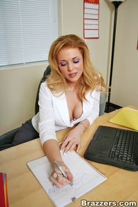 busty porn pictures busty blonde tits fucked work shyla
