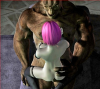 double stuffed sex dmonstersex scj galleries double stuffed animated cave troll