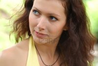 russian girl pictures mettus pretty blue eyed brown haired typical russian girl photo