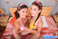 sex pic double media original little caprice lez duo diesel dyke