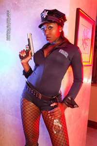 sexy ebony photos black ebony porn vivica rayy sexy police photo